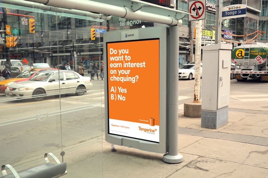 Tangerine free banking